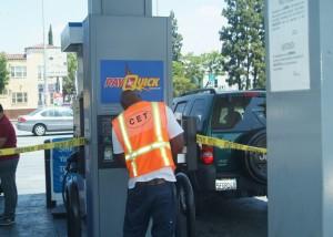 CET Pay Quick dispenser photo